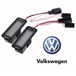 LED Plaque Immatriculation VW GOLF 4 5 6 GTI GTD R TDI TSI Anti erreur CANBUS