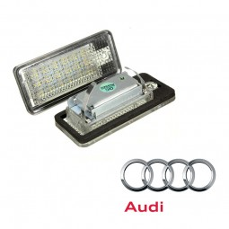 LED Plaque Immatriculation AUDI A3 S3 A4 S4 A6 S6 A8 S8 Q7 RS4 RS6 Anti erreur CANBUS
